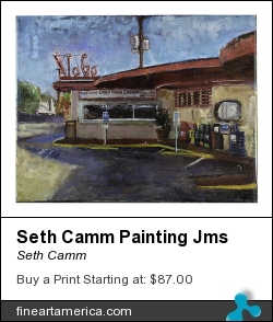 Seth Camm Painting Jms by Seth Camm - Painting - Oil On Canvas