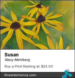 Susan by Stacy Mehlberg - Painting - Watercolor