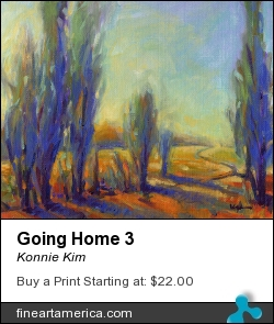 Going Home 3 by Konnie Kim - Painting
