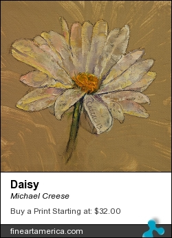 Daisy by Michael Creese - Painting - Oil On Canvas