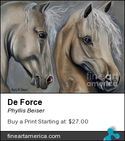 De Force by Phyllis Beiser - Painting - Oil On Canvas