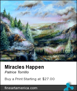 Miracles Happen by Patrice Torrillo - Painting - Acrylic On Canvas