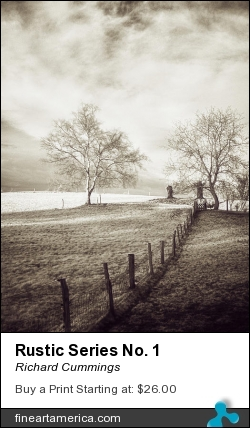 Rustic Series No. 1 by Richard Cummings - Photograph - Photograph