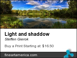 Light And Shaddow by Steffen Gierok - Photograph - Photo