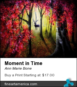 Moment In Time by Ann Marie Bone - Painting - Acrylic On Canvas