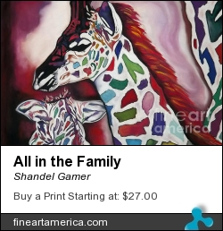 All In The Family by Shandel Gamer - Mixed Media - Mixed Media
