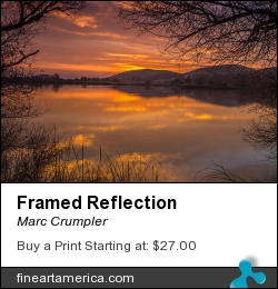 Framed Reflection by Marc Crumpler - Photograph
