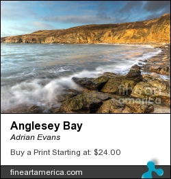 Anglesey Bay by Adrian Evans - Photograph
