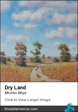Dry Land by Michko Wrye - Painting - Acrylic On Panel