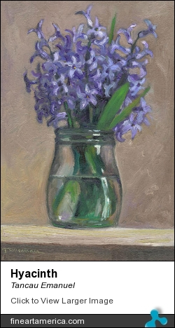 Hyacinth by Tancau Emanuel - Painting - Oil