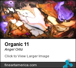 Organic 11 by Angel Ortiz - Painting - Acrylic On Canvas