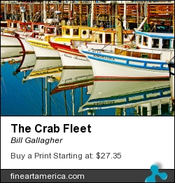 The Crab Fleet by Bill Gallagher - Photograph - Photograph