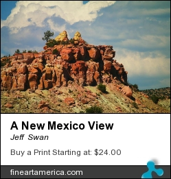 A New Mexico View by Jeff  Swan - Photograph - Photography