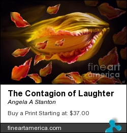 The Contagion Of Laughter by Angela A Stanton - Painting - Oil On Canvas