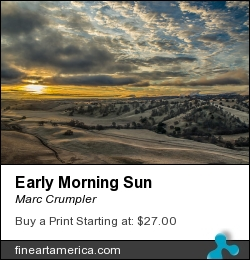 Early Morning Sun by Marc Crumpler - Photograph