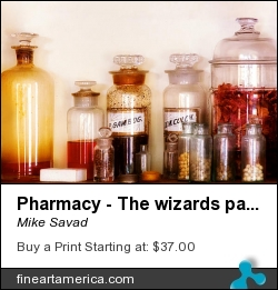 Pharmacy - The Wizards Pantry by Mike Savad - Photograph - Hdr Photography