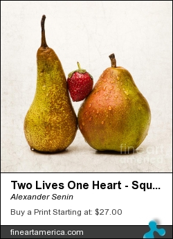 Two Lives One Heart - Square by Alexander Senin - Photograph