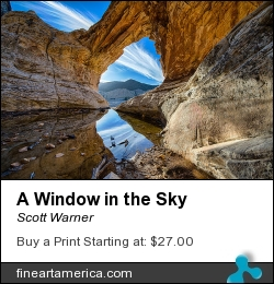 A Window In The Sky by Scott Warner - Photograph - Photo