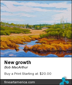 New Growth by Bob MacArthur - Painting
