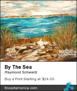By The Sea by Raymond Schwartz - Painting - Acrylic On Canvas