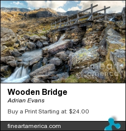 Wooden Bridge by Adrian Evans - Photograph - Photography