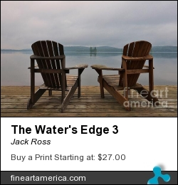The Water's Edge 3 by Jack Ross - Photograph