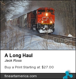 A Long Haul by Jack Ross - Photograph