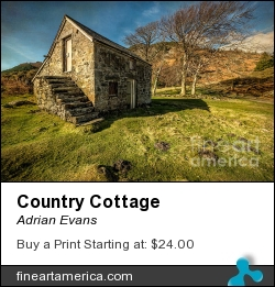 Country Cottage by Adrian Evans - Photograph - Photography