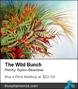 The Wild Bunch by Penny Taylor-Beardow - Painting - Oil On Canvas