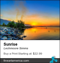 Sunrise by Lechmoore Simms - Photograph