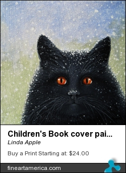 Children's Book Cover Painting by Linda Apple - Painting - Acrylic On Canvas