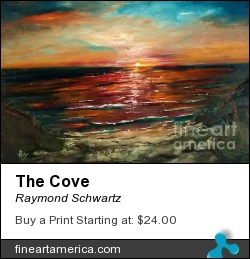 The Cove by Raymond Schwartz - Painting - Oil On Canvas