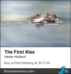 The First Kiss by Heike Hultsch - Mixed Media - Fotografie
