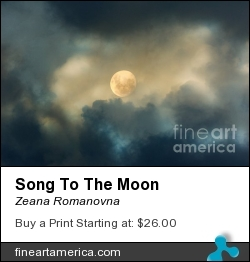 Song To The Moon by Zeana Romanovna - Photograph - Photography