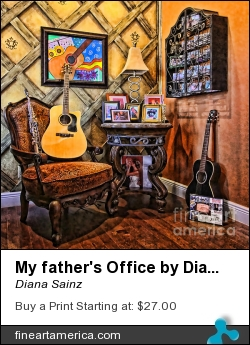 My Father's Office By Diana Sainz by Diana Sainz - Photograph - Photography - Digital Photography