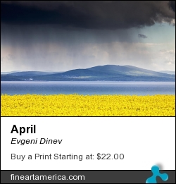 April by Evgeni Dinev - Photograph