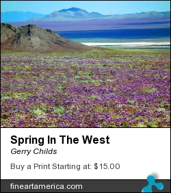 Spring In The West by Gerry Childs - Photograph