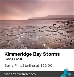 Kimmeridge Bay Storms by Chris Frost - Photograph - Photograph