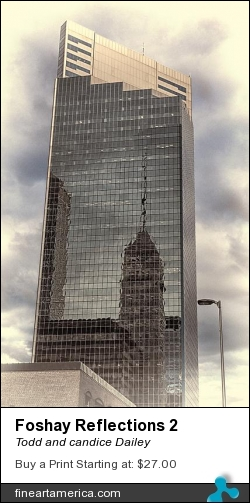 Foshay Reflections 2 by Todd and candice Dailey - Photograph - Photography
