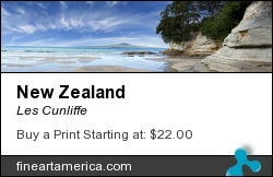 New Zealand by Les Cunliffe - Photograph
