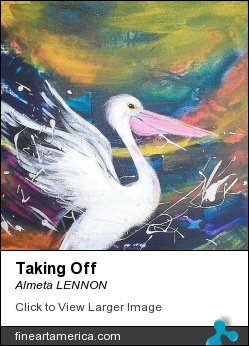 Taking Off by Almeta LENNON - Painting - Acrylic On Canvas