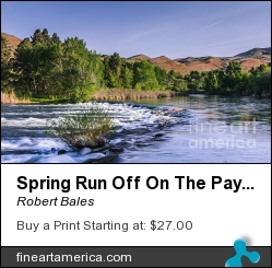 Spring Run Off On The Payette River by Robert Bales - Photograph - Photo