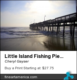 Little Island Fishing Pier by Cheryl Gayser - Photograph