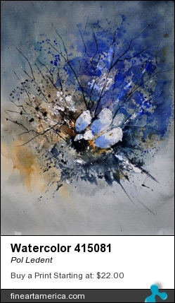 Watercolor 415081 by Pol Ledent - Painting
