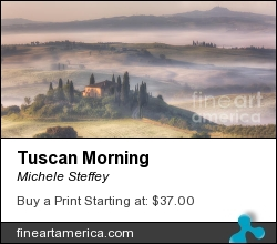 Tuscan Morning by Michele Steffey - Photograph - Digital Photography