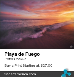 Playa De Fuego by Peter Coskun - Photograph - Photography