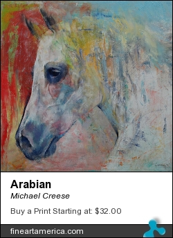 Arabian by Michael Creese - Painting - Oil On Canvas