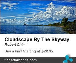 Cloudscape By The Skyway by Robert Chin - Photograph - Photographs