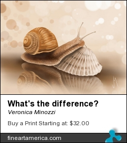 What's The Difference? by Veronica Minozzi - Digital Art - Ipad Painting
