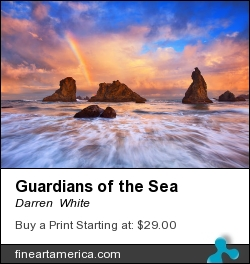 Guardians Of The Sea by Darren  White - Photograph - Digital Photography